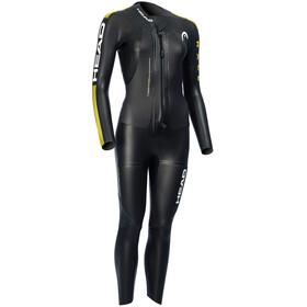 Head Swimrun Race Combinaison en néoprène Femme, gold